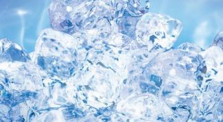 Как превратить воду в лёд