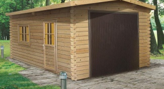How to build a garage out of wood