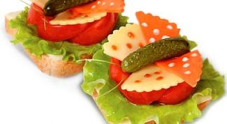 Как приготовить оригинальные бутерброды