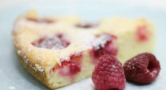 Как готовить малиновый пирог