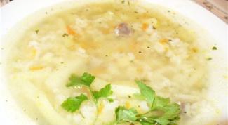 Как варить рисовый суп