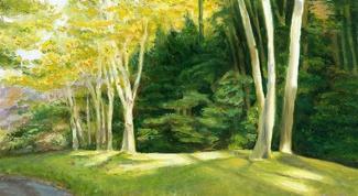 Как рисовать маслом пейзаж