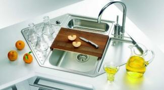 Как установить раковину в кухне