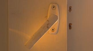 Как открыть ручку двери