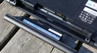 Как использовать батареи ноутбука