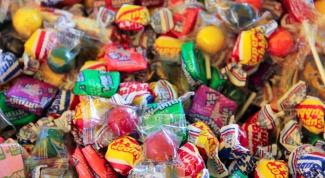Как нарисовать конфету