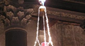 Как зажечь лампаду