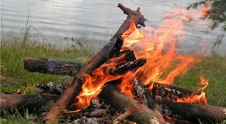Как зажечь костер