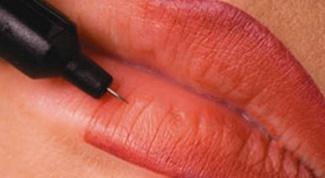 Как увеличить губы макияжем