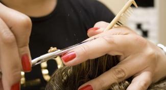 Как стричь волосы лесенкой