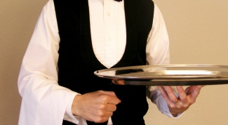 How to be a good waiter