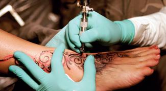 научиться делать татуировки