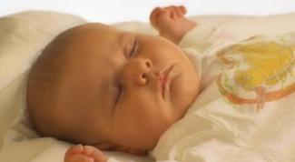 Как уложить младенца