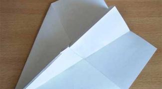 Как собрать из бумаги самолет