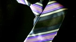 Как почистить галстук
