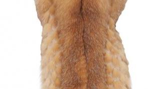 Как носить меховые жилеты