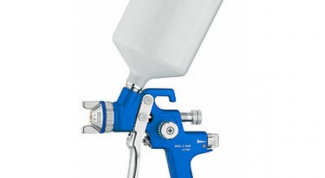 How to configure a spray gun