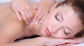 Как делать воротниковый массаж