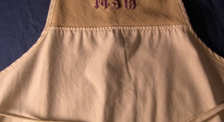 How to embroider the name of the stitch
