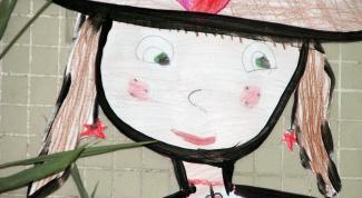 Как оформить детский рисунок