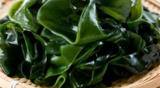 How to cook frozen sea cabbage