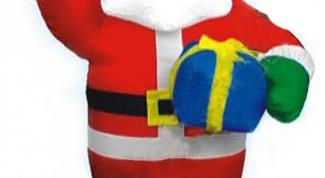 Как слепить Деда Мороза