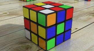 Как собрать кубик-головоломку