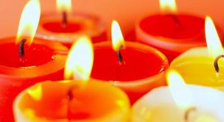 Как растопить свечу