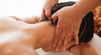 Как делать массаж воротниковой зоны