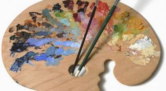 Как смешивать масляные краски