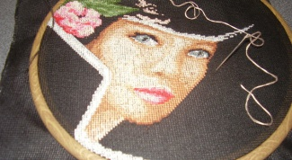 How to cross-stitch picture