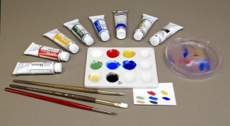 How to learn to paint with gouache