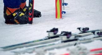 Как бежать на лыжах