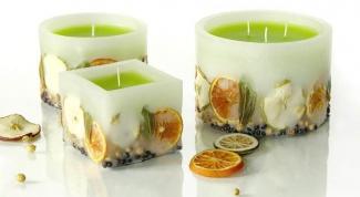 Как сделать ароматическую свечу