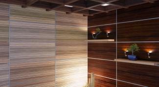 Как закрепить стеновые панели