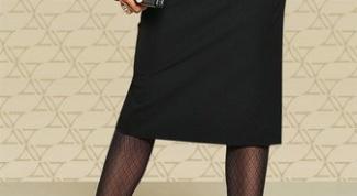 Как построить чертеж прямой юбки