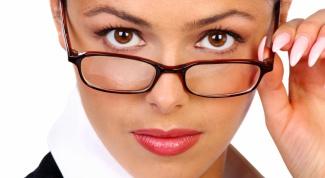 Как подобрать очки к типу лица