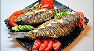 Как пожарить рыбу в духовке