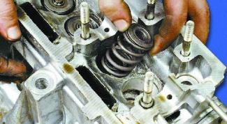 Как заменить сальники клапанов