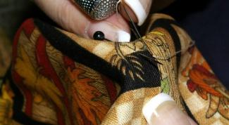Как шить потайным швом