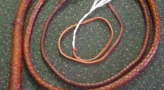 Как сплести плетку
