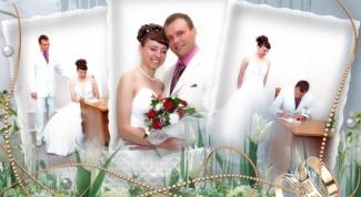 Как обрабатывать свадебное фото