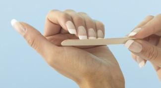 Как точить ногти