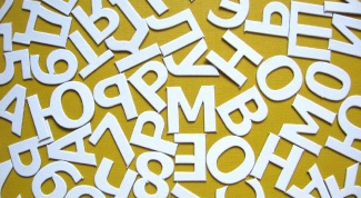 How to write numbers letters or words