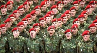 Как отвечать в армии на вопросы
