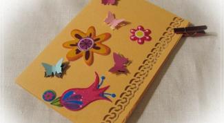 Как сделать маме открытку на день рождения