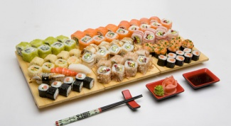How to cook sushi rolls