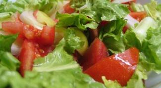 Как готовить зеленый салат