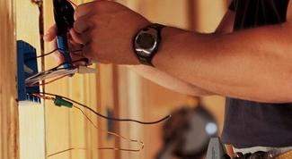 Как провести электрику