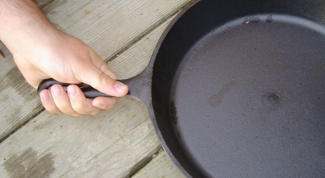 Как отмыть сковороду от жира
